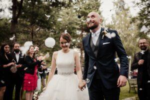 eleganckie wesele confetti