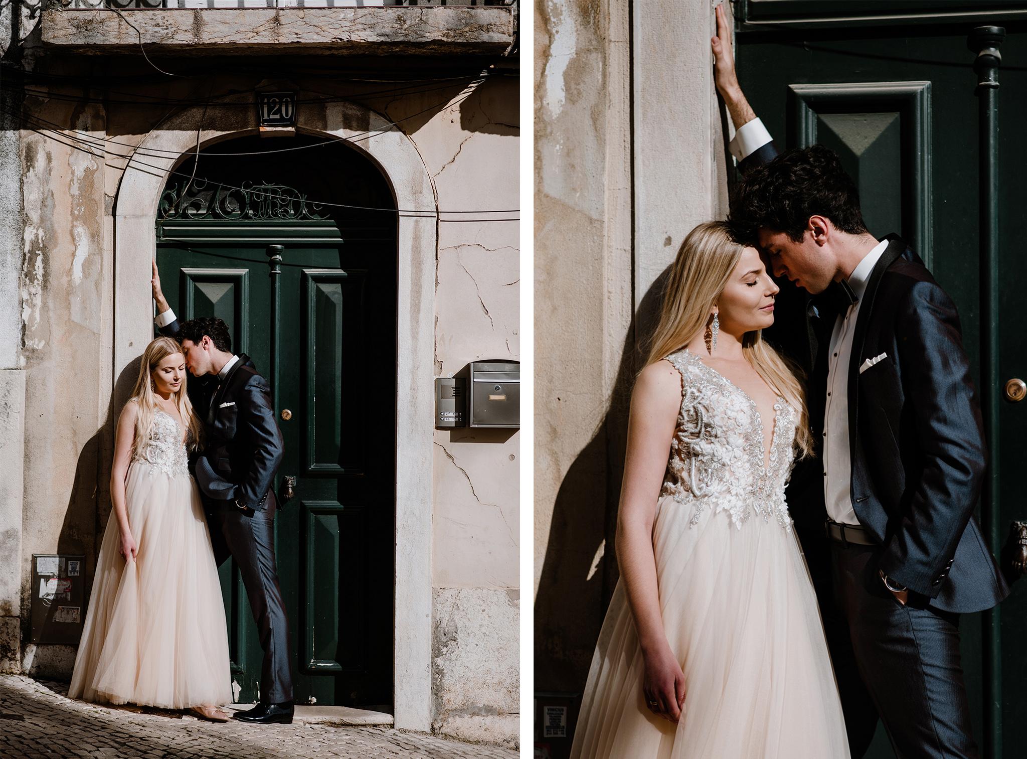 Zagraniczna sesja poślubna w Lizbonie
