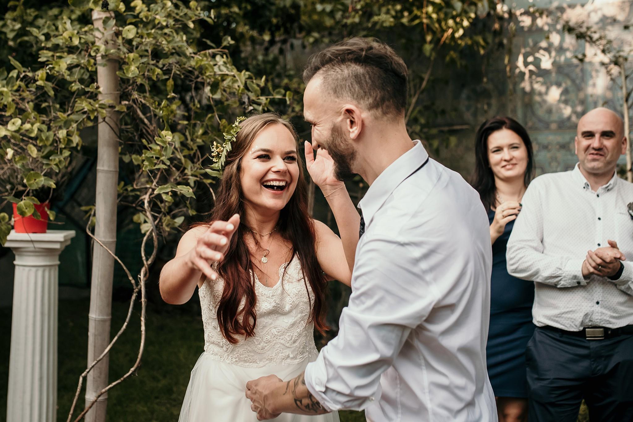 plenerowy ślub boho