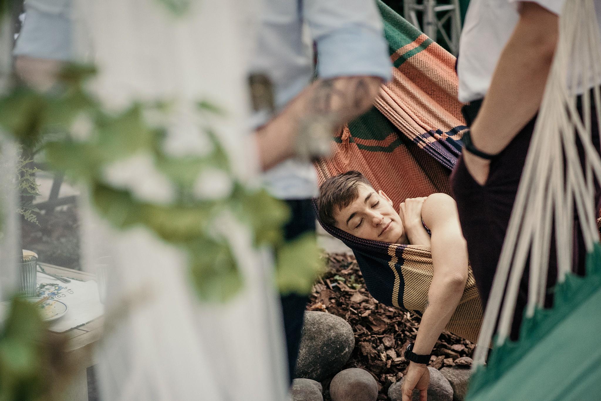 plenerowe wesele w stylu boho