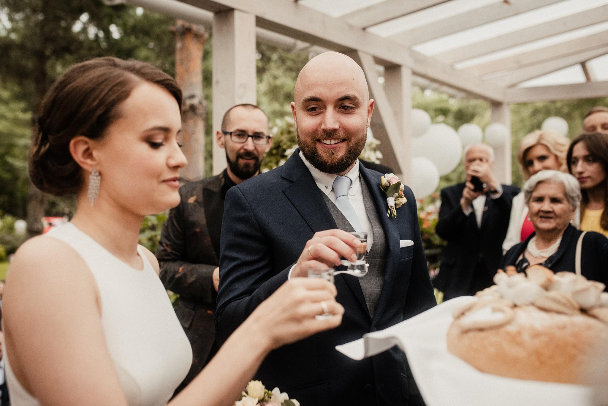 Pod Aniołami reportaż weselny