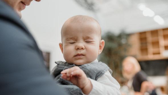 sesja dziecięca chrzest