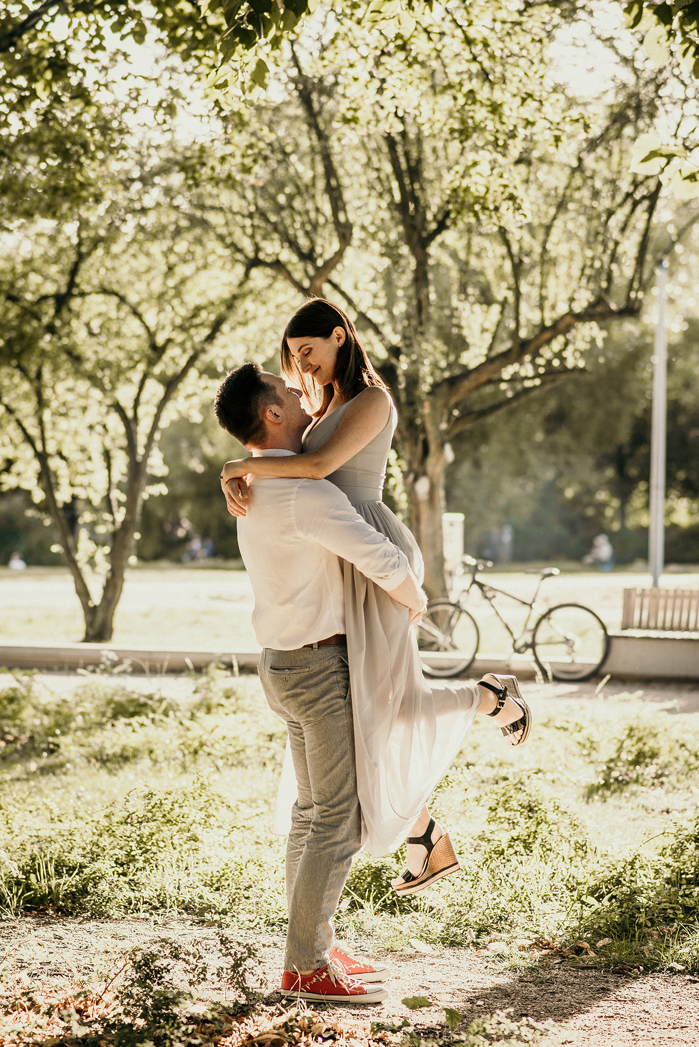 fotograf sesja pary w parku