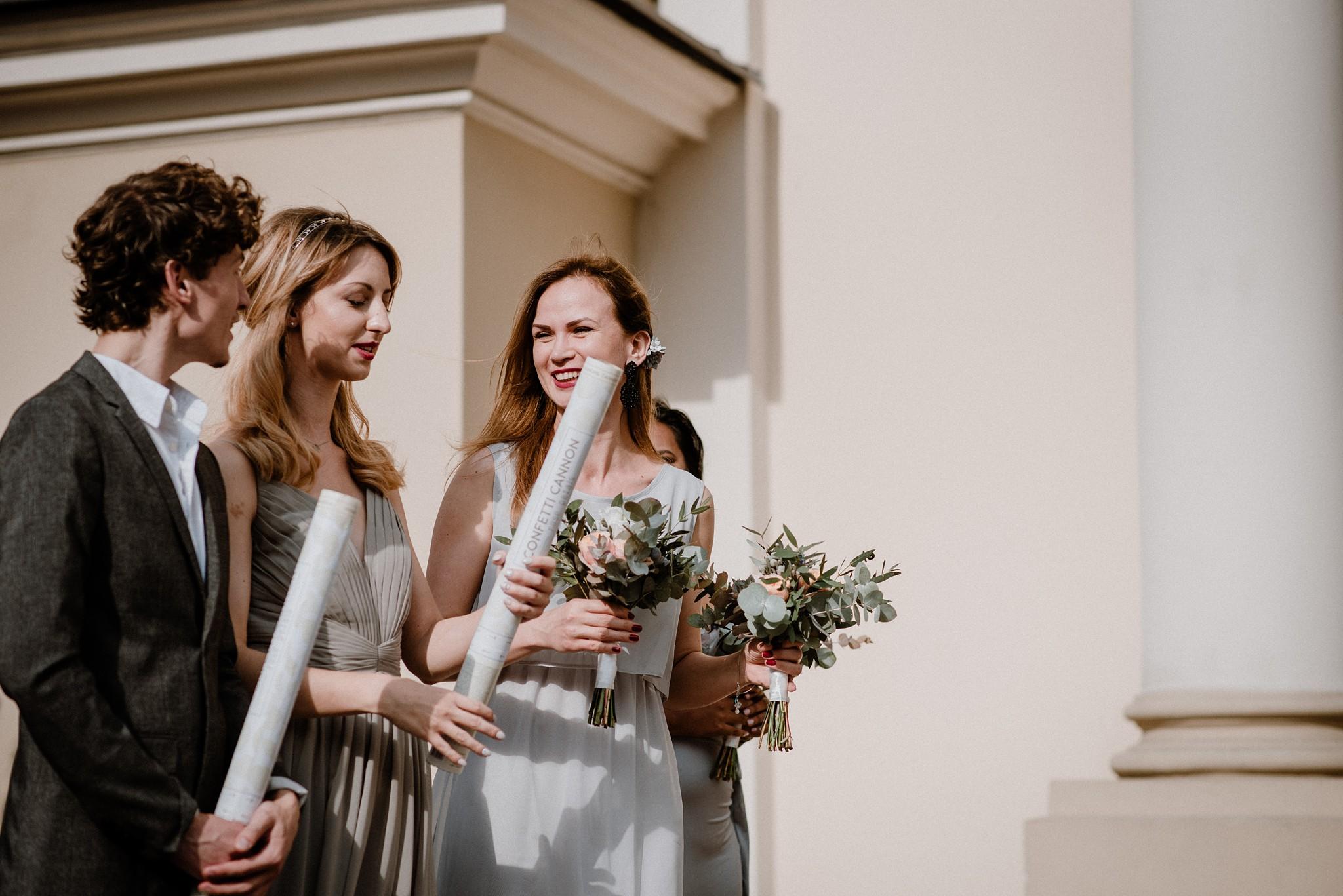 confetti ślubne zdjęci