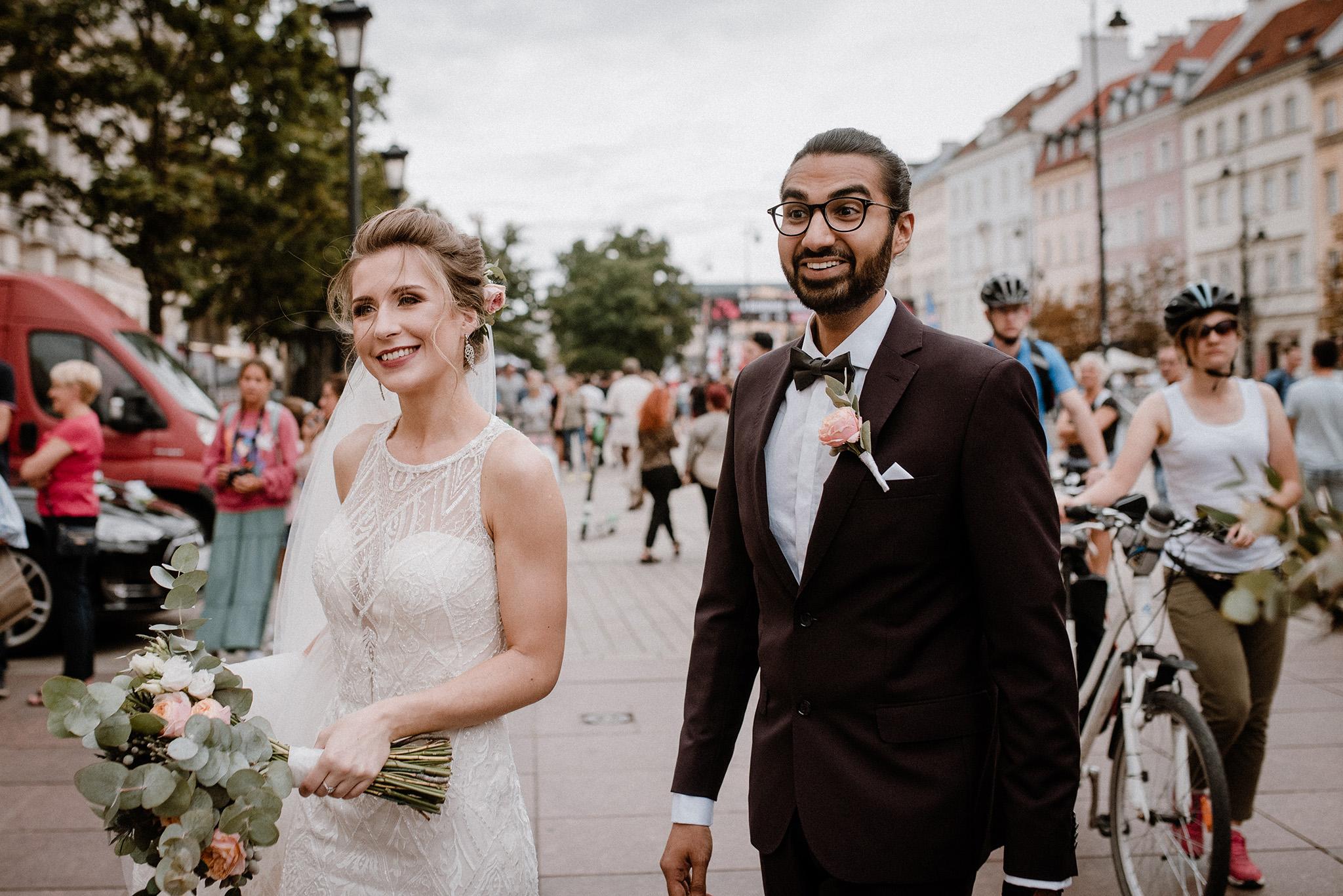 zdjęcia ślubne stare miasto