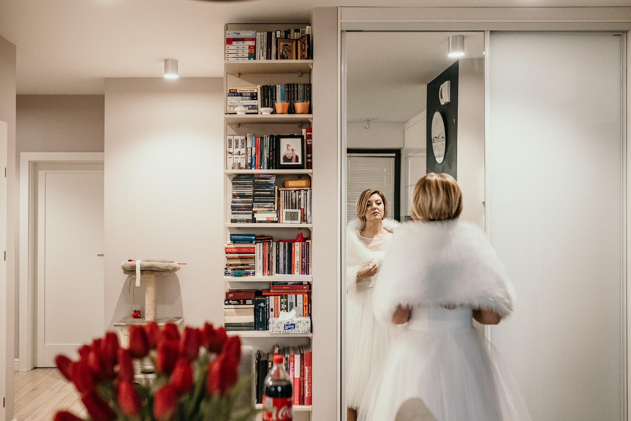 zimowy ślub zdjęcia