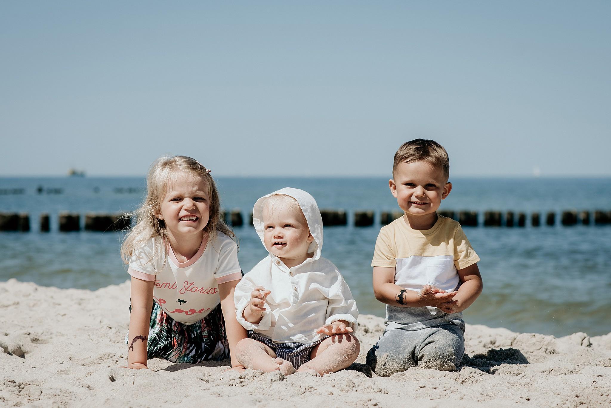 zdjęcia rodzinne nad morzem