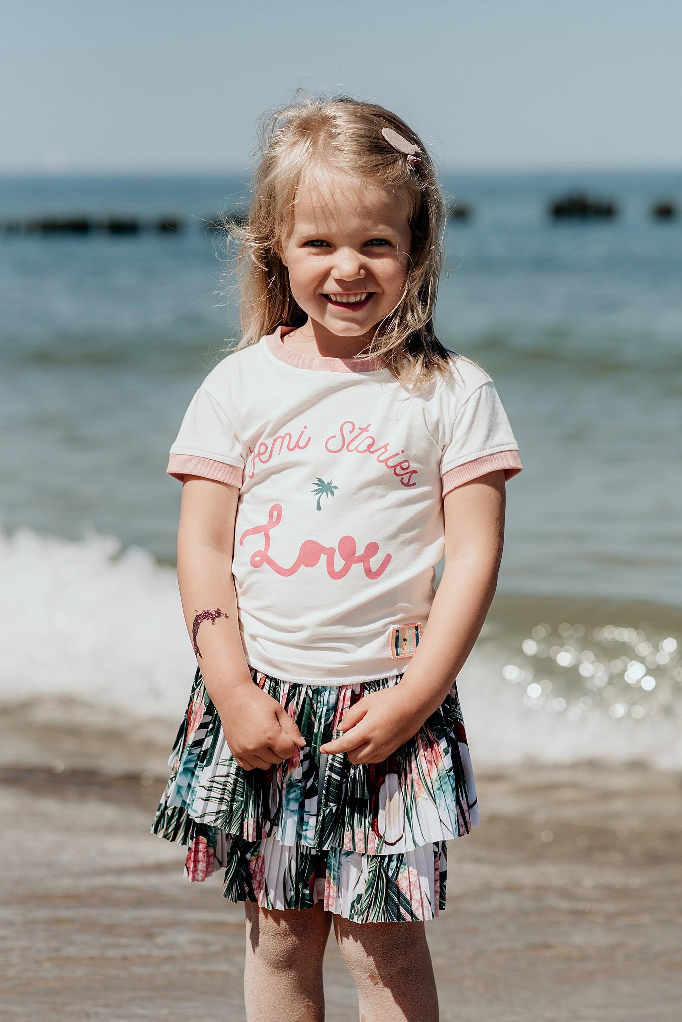 fotografia dziecięca morze