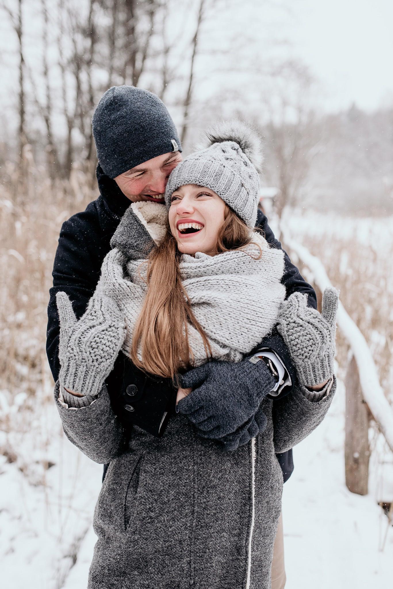 ślubne inspiracje zima