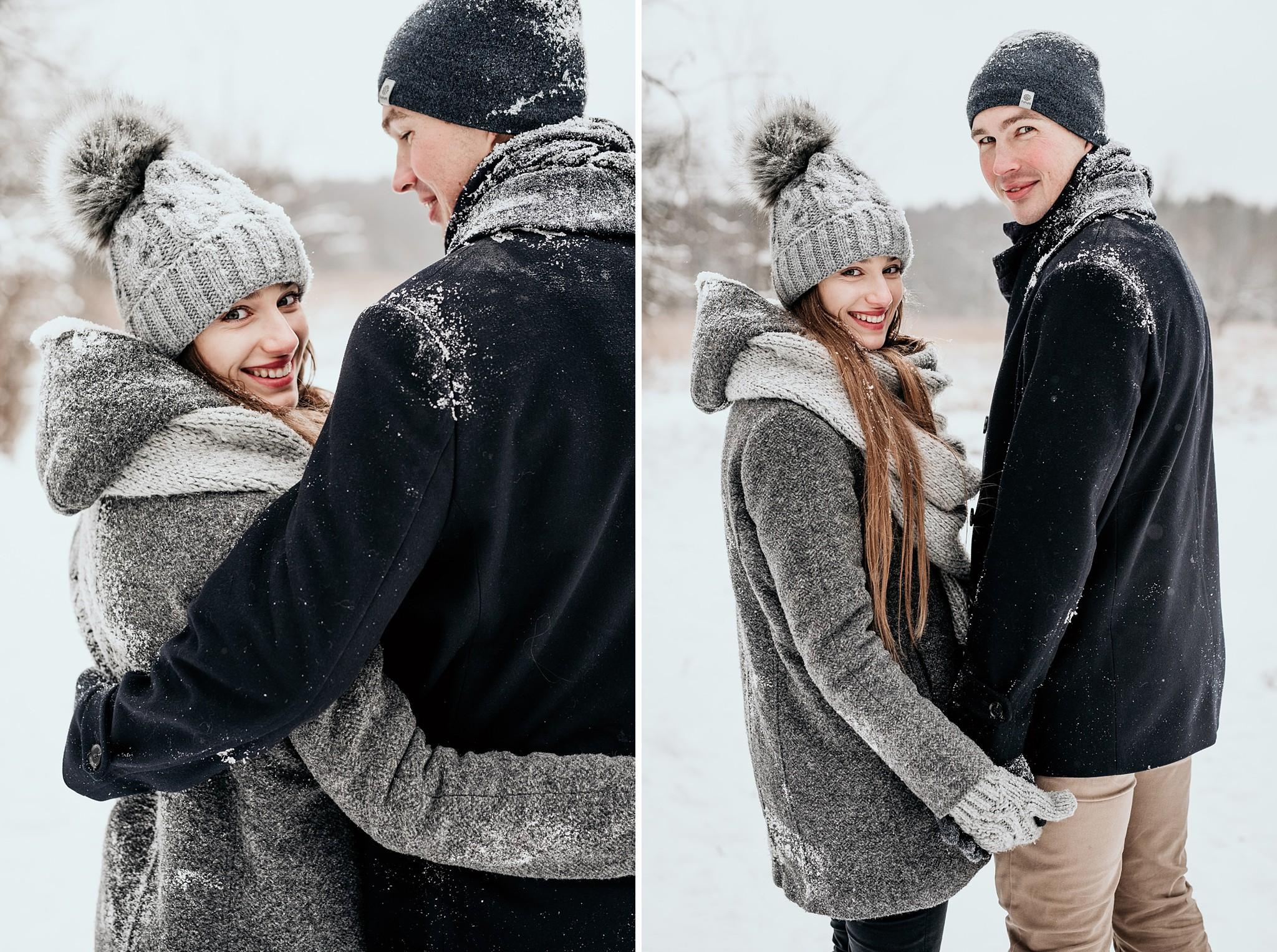 artystyczna fotografia par