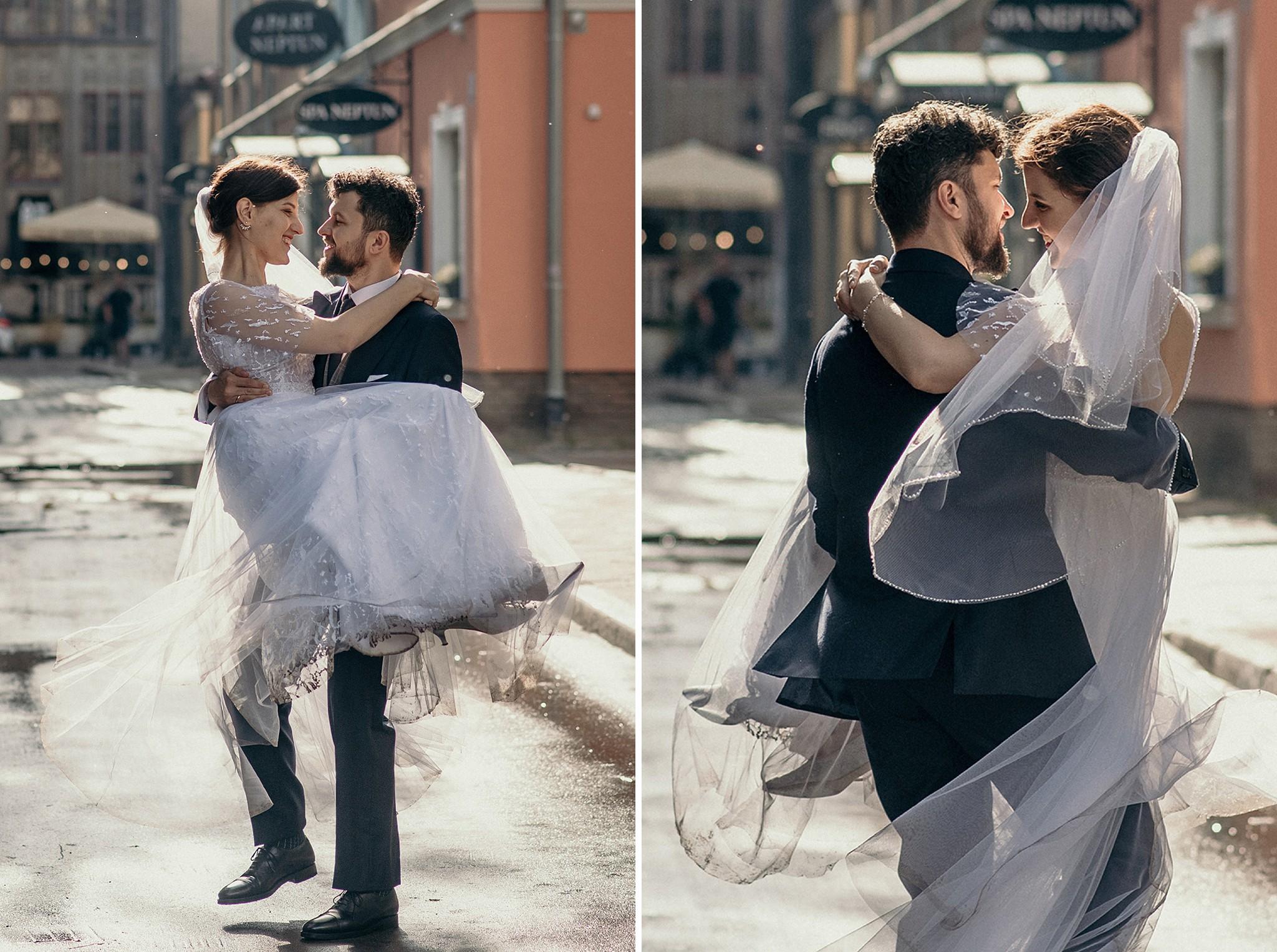 sesja ślubna na starówce gdańsk