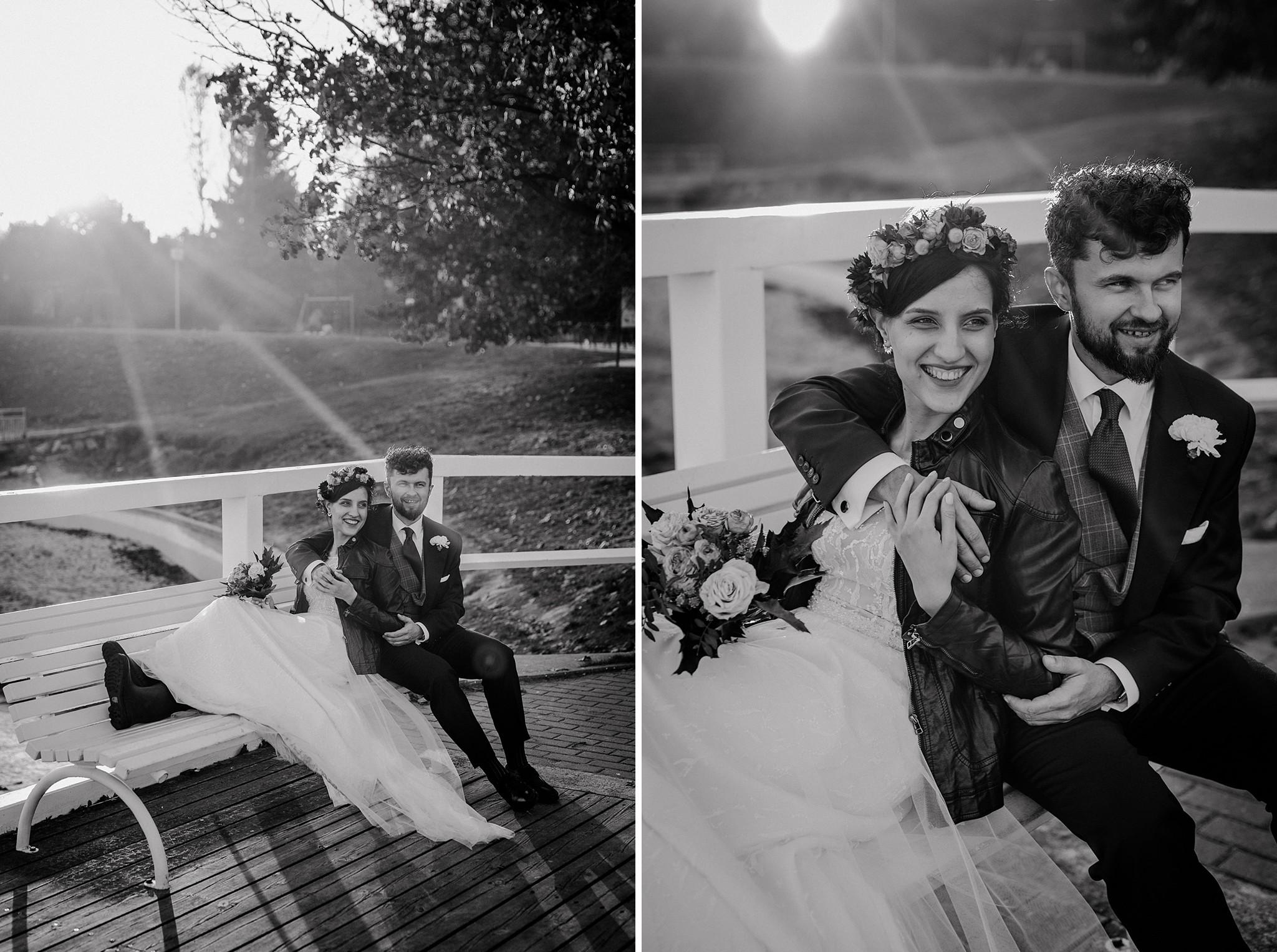 zdjęcia ślubne molo trójmiasto