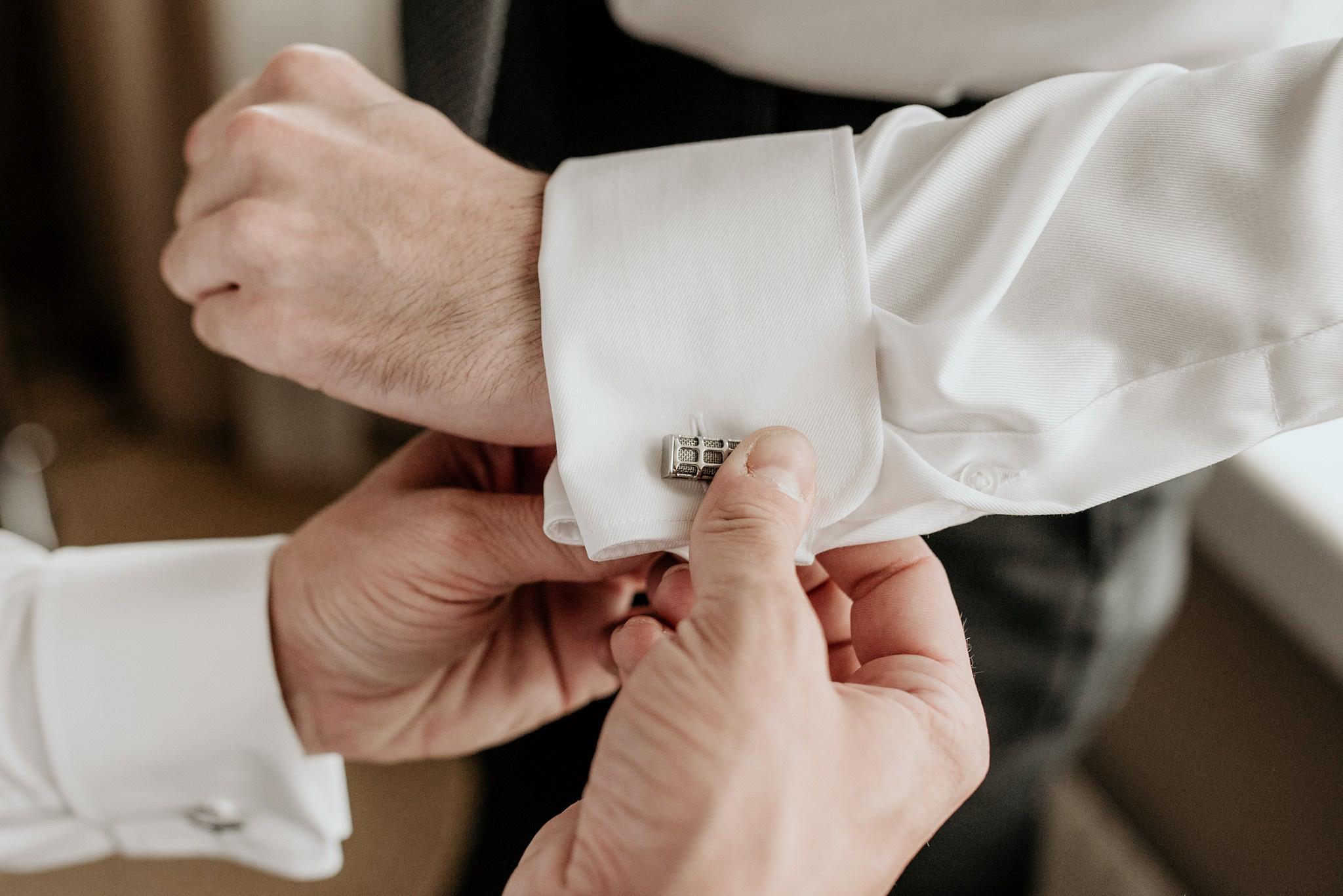 spinki do mankietów ślub