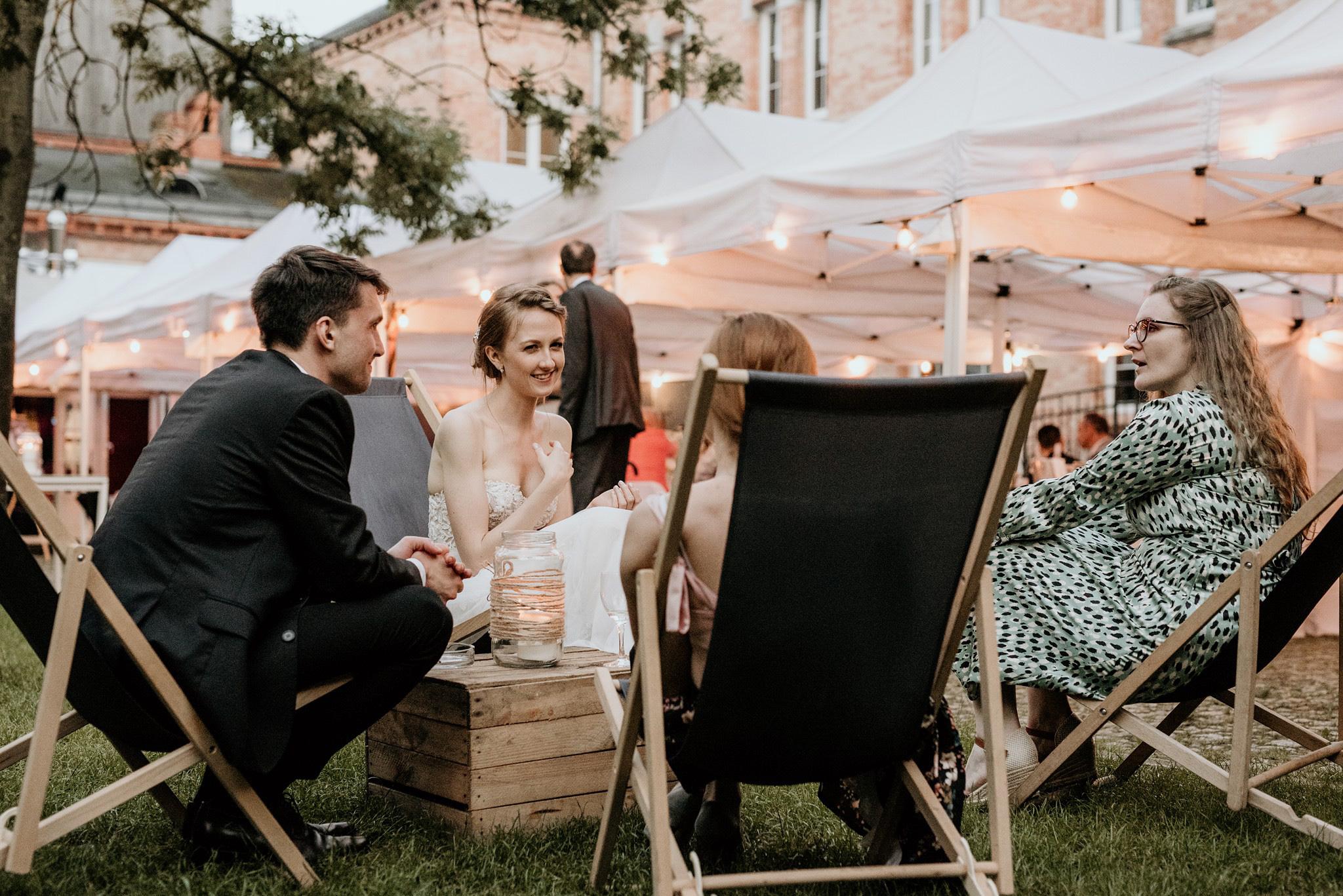 strefa odpoczynku wesele